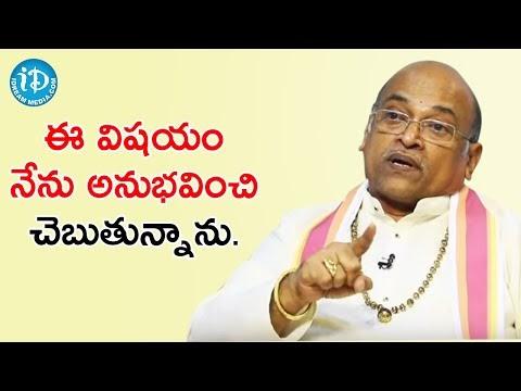 Garikipati Narasimha Rao About His Lifestyle   Celebrity Buzz With iDream   iDream Filmnagar