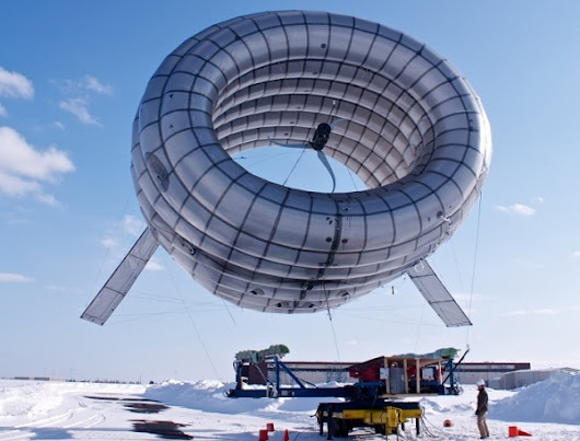 The Worlds First Airborne Wind Turbine Is Also A WiFi Hotspot - Gadgetzz | Technology News