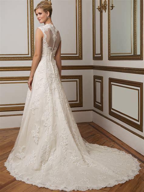Justin Alexander 8822 Queen Anne Bridal Dress
