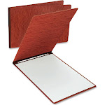 Oxford - Flat bar file - Letter - red (pack of 25)