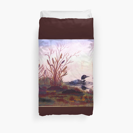 'Spring time.' Duvet Cover by BeverlyKD