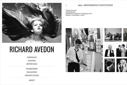 Explore and Experience the Photos of Richard Avedon on Your iPad