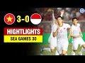 Link xem trực tiếp U22 Việt Nam gặp U22 Indonesia (bóng đá nam SEA Games 30)