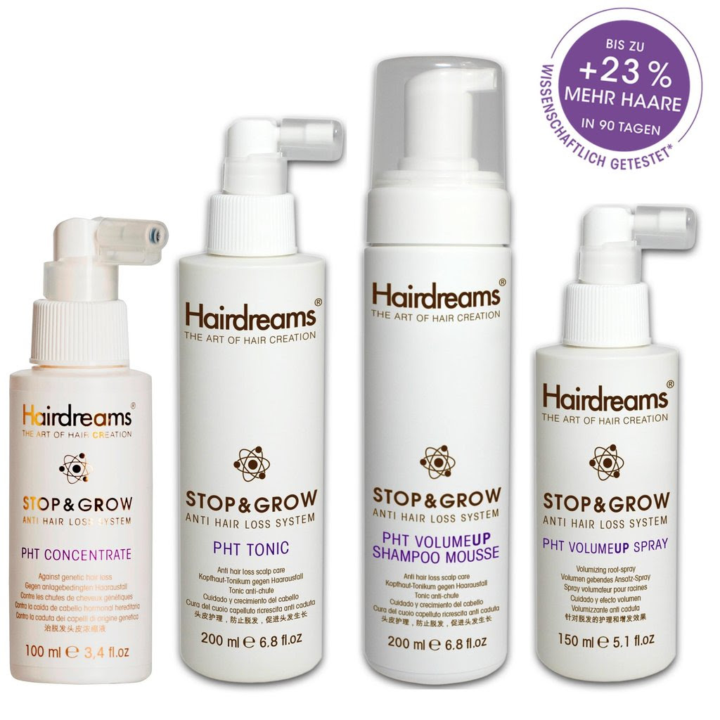 Hairdreams Stopgrow Stop And Grow Pht Kopfhaut 4 Tlg Kit Aktion