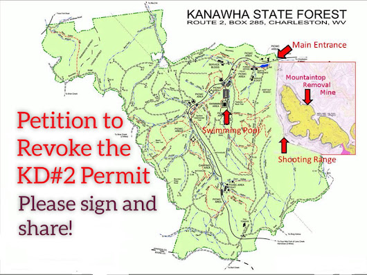 Revoke the permit for the KD#2 Surface Mine adjacent to Kanawha State Forest. - The Action Network