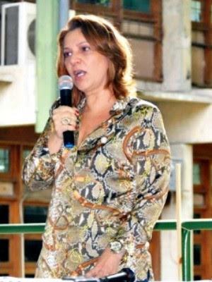 Márcia Perales busca reeleição como reitora da Universidade Federal do Amazonas (Foto: Divulgação/Adua)
