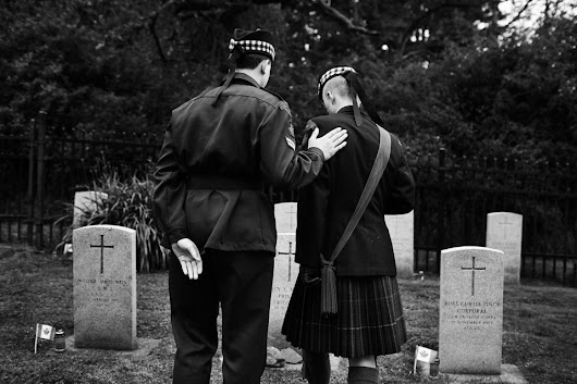 Candlelight Tribute at God's Acre Veterans Cemetery - ATRIA Collective