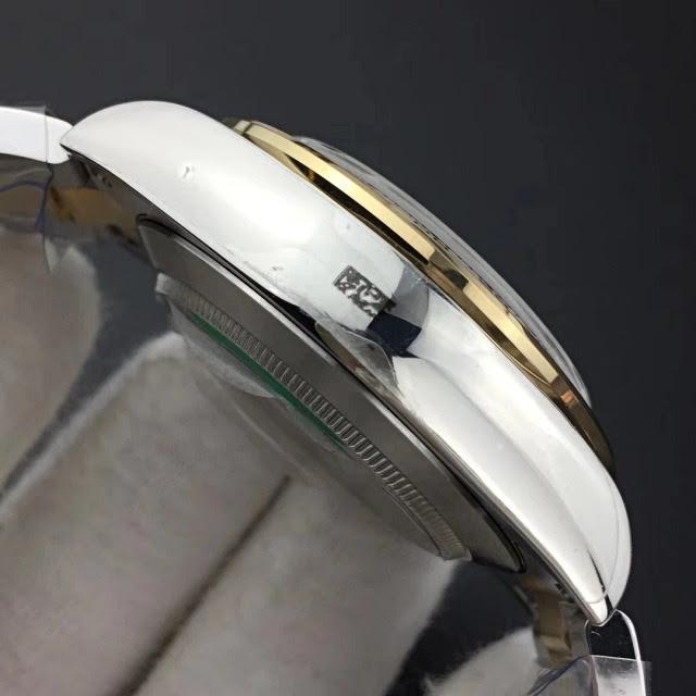 Replica Rolex Daytona Two Tone Black Dial 5