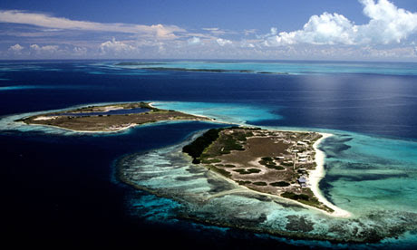The Los Roques archipelago in Venezuela