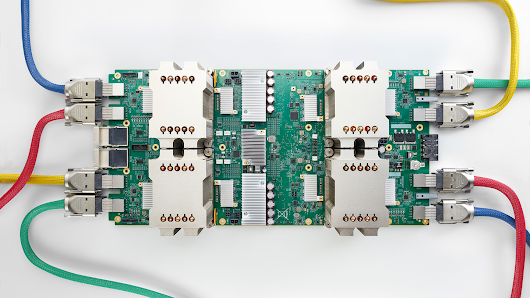 Build and train machine learning models on our new Google Cloud TPUs