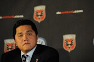 Erick Thohir at a press conference on July 10, 2012 in Washington, DC