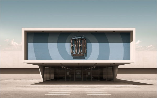 Ever Mall – modernist and postmodernist architectural design.