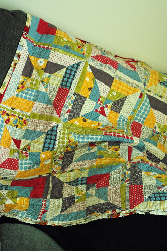 pinwheel quilt for the kids