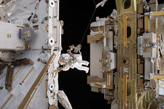 Spacewalks Prepare Station for Arrival of Commercial Crew Spacecraft