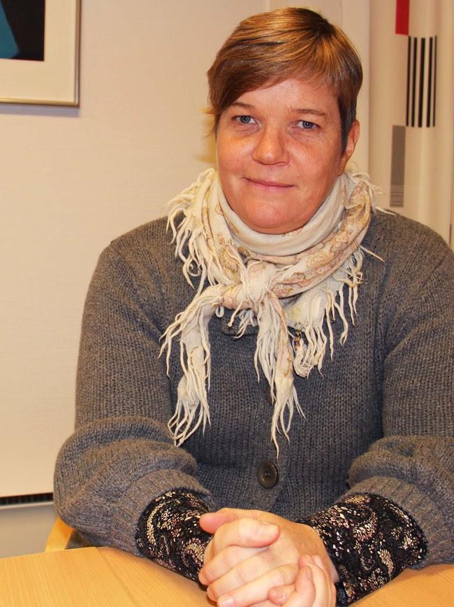 Bess Margrethe Frøyshov - Sykehusdirektør Bess Frøyshov er ikke den mest populære på Rjukan og i Kragerø om dagen. - Foto: Foto: Grete Ingebjørg Berge / NRK