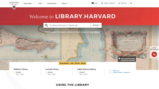 Harvard Library Launching New Website