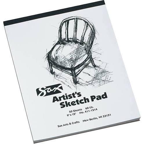 sax artists sketch pad