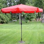 China Deluxe Outdoor 9-foot Tilt Umbrella