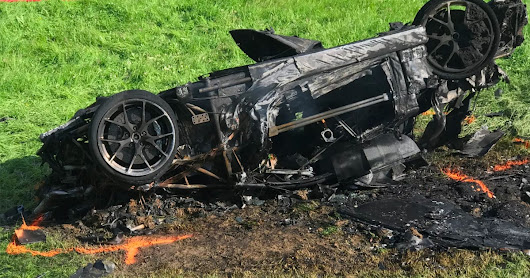 Amazon star Richard Hammond involved in electric car crash (updated)