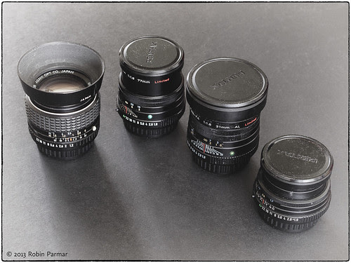 some well-loved Pentax optics
