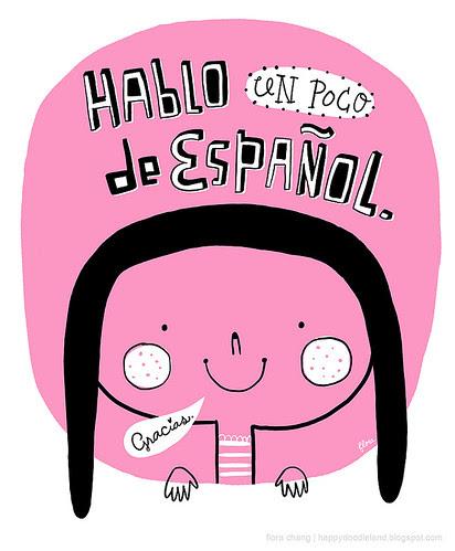 I am learning Spanish!