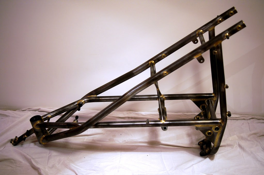 Seeley Mk3 G50 Roger Titchmarsh Frame Grom Motorcycle
