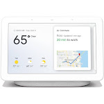 Google Nest Hub with Google Assistant (GA00516-US) - Chalk