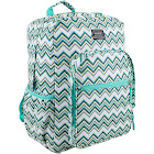 Eastsport Girl Student Large Backpack with Multiple Compartments, Pixi Chevron