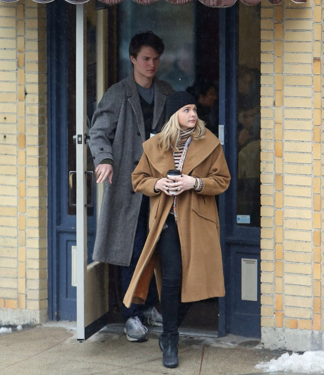 Chloe Moretz: Set of November Criminals -15