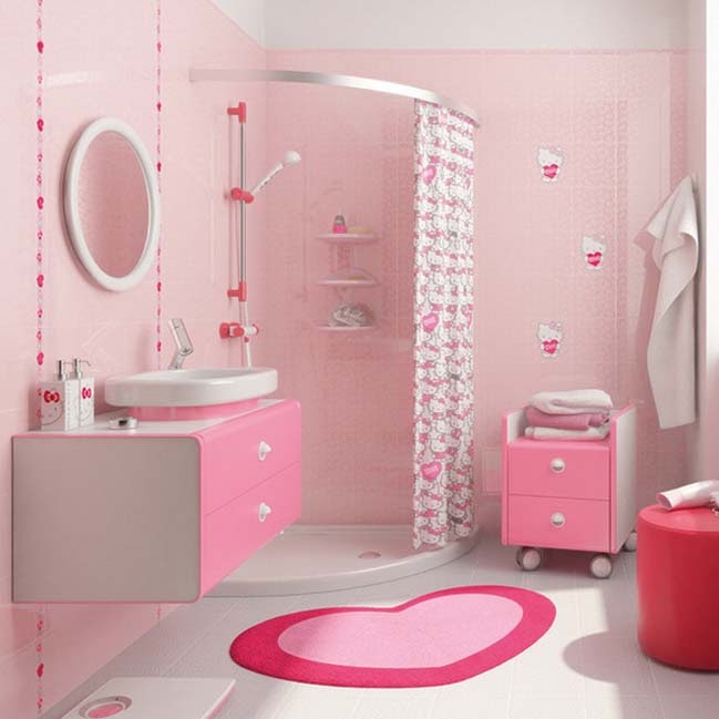 Cool Bathroom Ideas Pink images