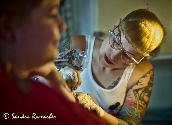 50's style, Retro caravan tattoo parlour, 2012 Sydney Tattoo & Body Art Expo by Sandra Ramacher