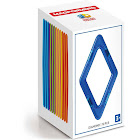 Magformers 12-Piece Diamond Building Set, Rainbow