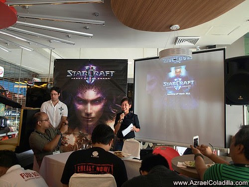 Starcraft II: Heart of the Swarm Philippine launching