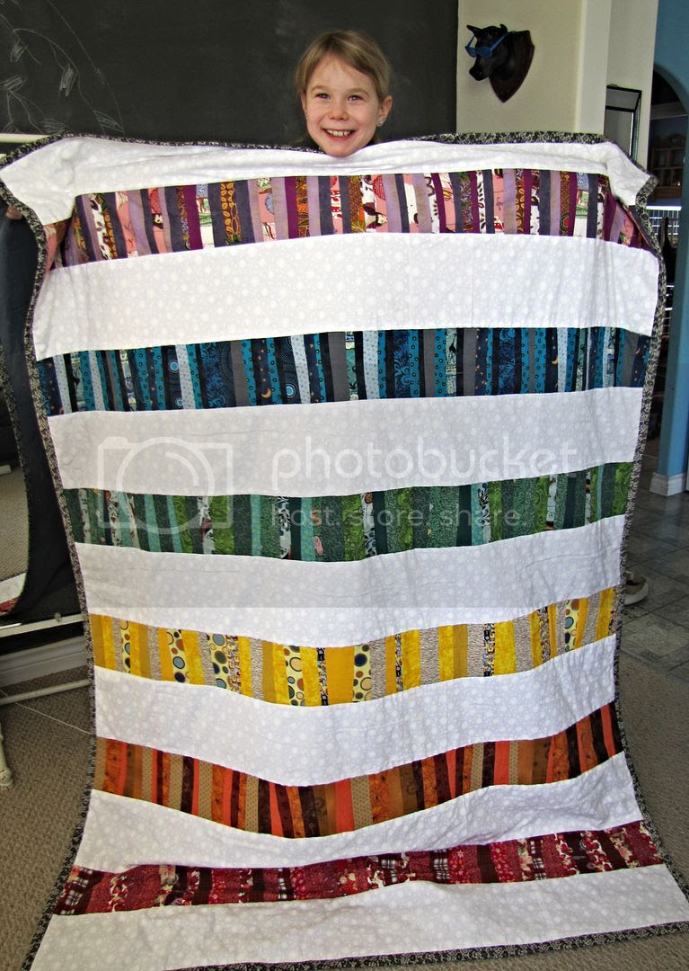 Rainbow strip work quilt by Indietutes.blogspot.com photo ffb259d5-c79b-4345-82be-a1919355bd83.jpg