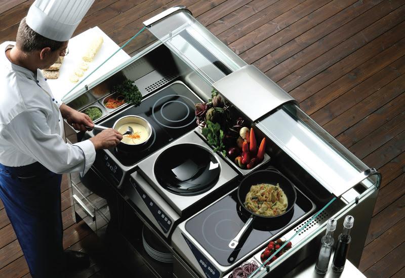 Chiếc tủ lạnh 4 cửa thuộc bộ sưu tập Chef Collection