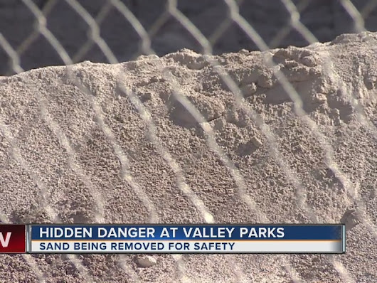 Say bye-bye to sand at Las Vegas parks due to safety concern