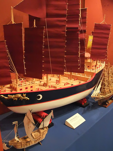 Model of 15th century Ming Treasure Ship by mharrsch, on Flickr