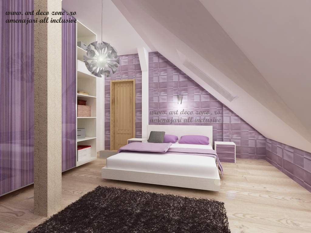 design interior dormitor lila brasov