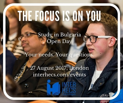 """The Focus is on You"": Study in Bulgaria Open Day in London 