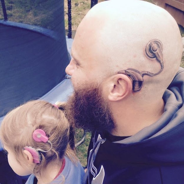 This Dad Gets Tattoo To Match His Daughter And Its Awesome