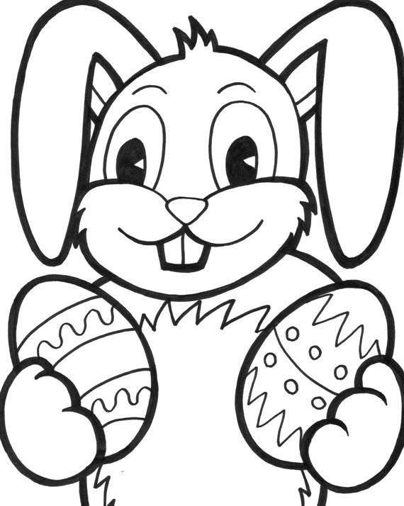 Easter Bunny Coloring Pages | North Texas Kids