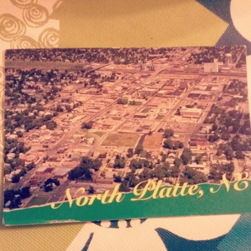 North Plate #postcrossing #usa