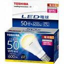 東芝調光器非対応LED電球 「E-CORE」(ミニクリプトン形・全光束600lm/電球色・口金E17) LDA6...
