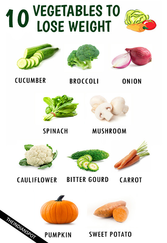 Top 10 Healthy Vegetables To Quickly Lose Weight