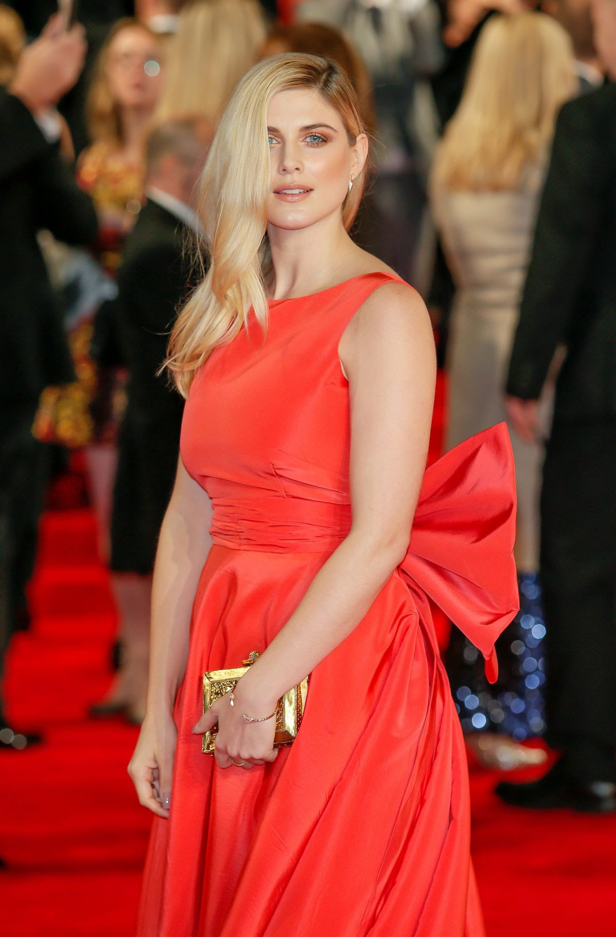 ASHLEY JAMES at Spectre Premiere in London 10/26/2015