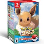 Pokémon: Let's Go, Eevee! Video Game + Poké Ball Plus Pack - Import Region Free