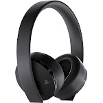 Sony 3002498 Gold Wireless Bluetooth Over-Ear Headset - Black