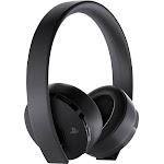 Sony 3002498 Gold Wireless Bluetooth Over-Ear Headset - Black