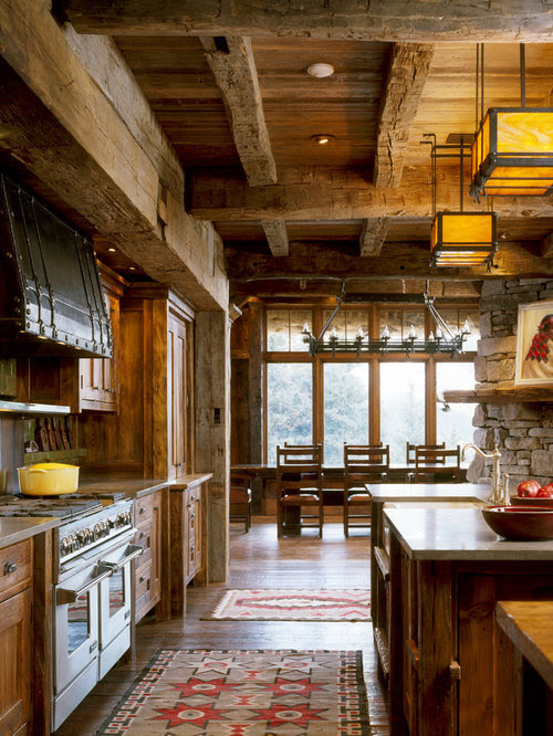 Rustic Kitchen Cabinets Home Design Ideas Pictures