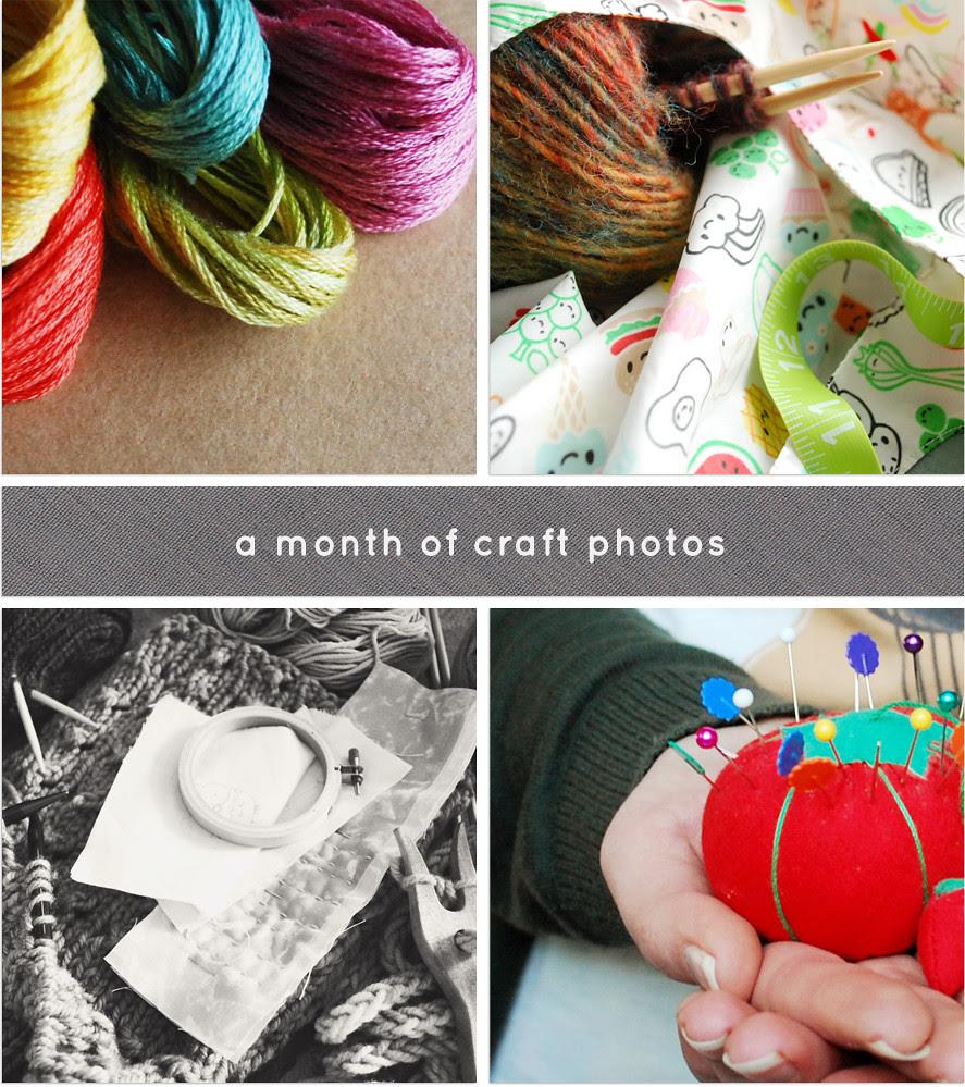 A Month of Craft Photos